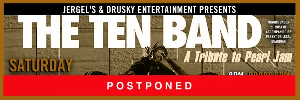 RESCHEDULED for Friday, October 9 – TEN
