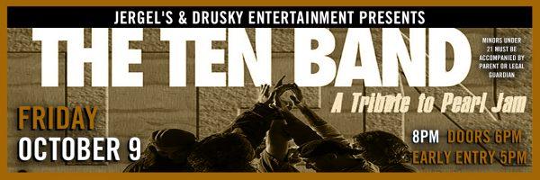 TEN – Pearl Jam Tribute