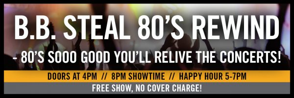 BB Steal – 80's Rewind