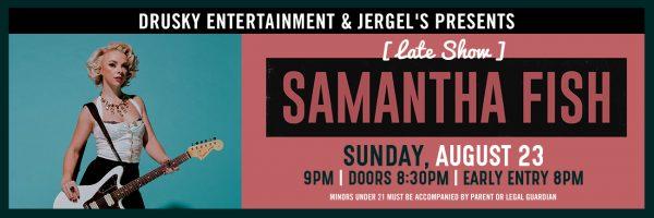 Samantha Fish – Late Show