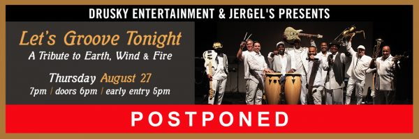 POSTPONED – Let's Groove Tonight