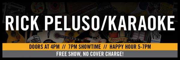 Karaoke w/Rick Peluso