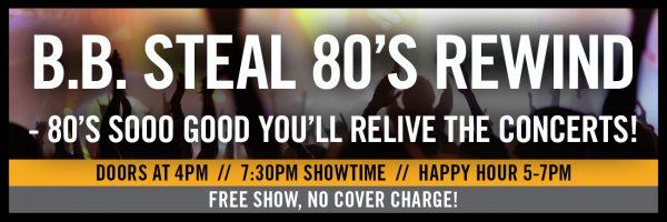 B.B. Steal – 80's Rewind