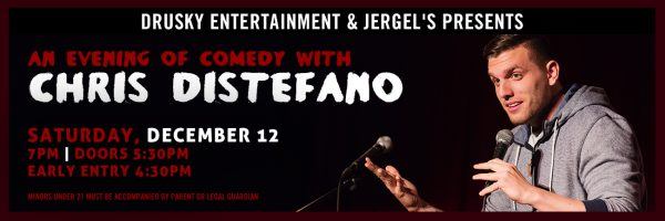 Chris Distefano – an Evening of Comedy