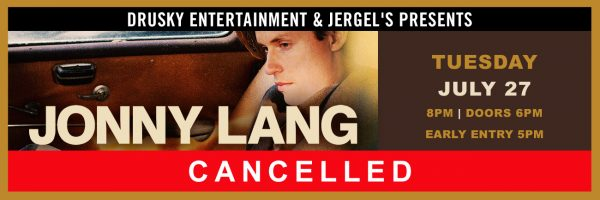 CANCELED – Jonny Lang