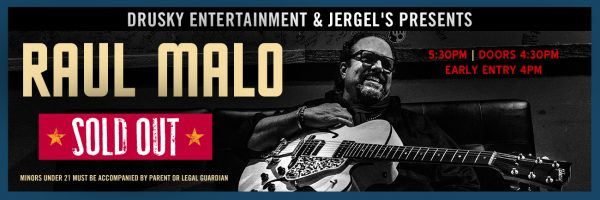 Raul Malo – Early Show SOLD OUT