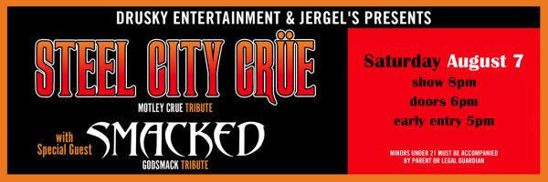 Steel City Crue – Motley Crue Tribute