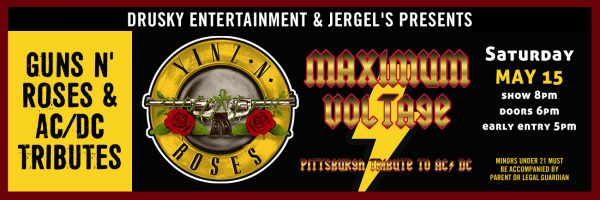Yinz N' Roses / Maximum Voltage