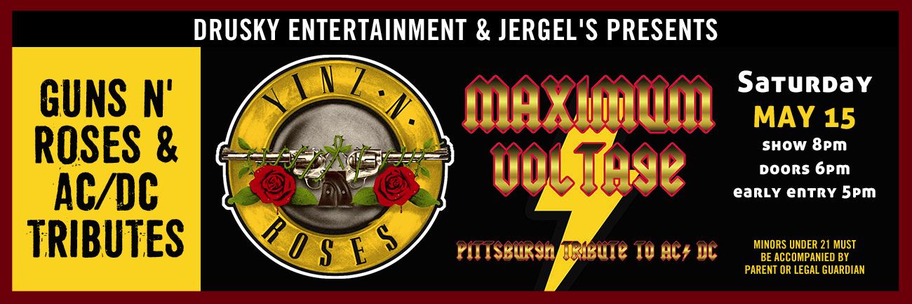 Yinz N' Roses / Maximum Voltage