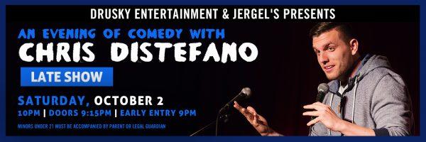 Chris Distefano – an Evening of Comedy – Late Show