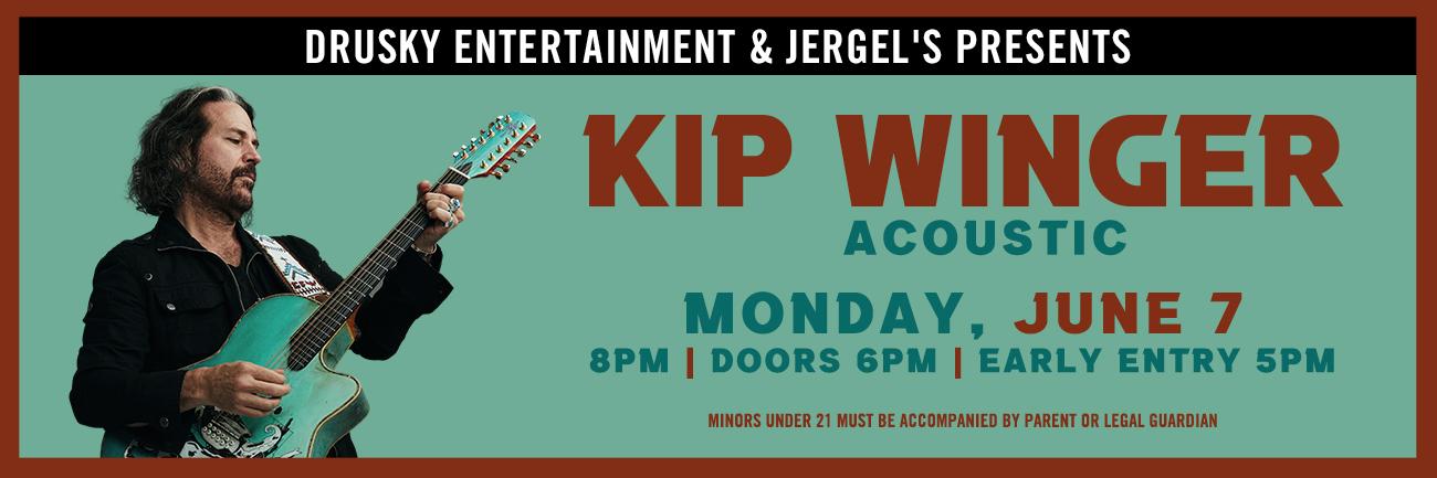 Kip Winger (Acoustic)