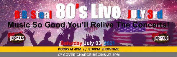 B.B. Steal – 80's Live