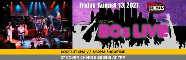 B.B. Steal – 80's Live!
