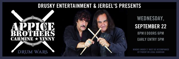 Drum Wars featuring Carmine & Vinny Appice