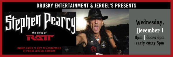 Stephen Pearcy – the voice of RATT